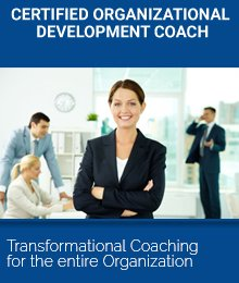 Certified Organizational Development coach